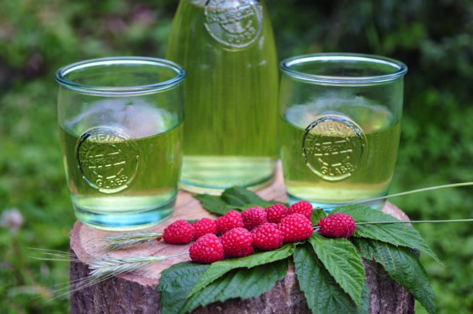 zielona herbata na lato
