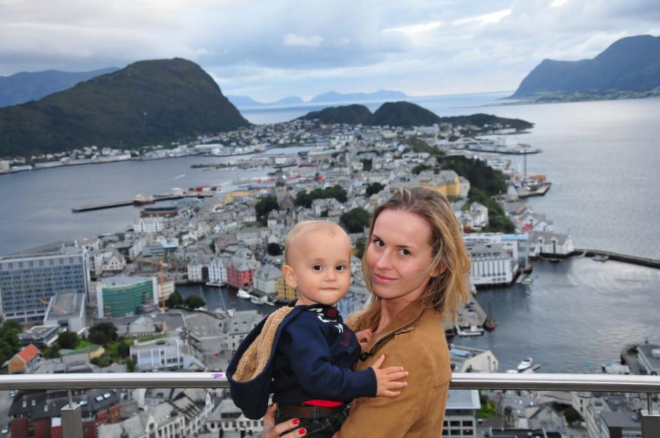 Norwegia, Aalesund, Szczesliva (32)
