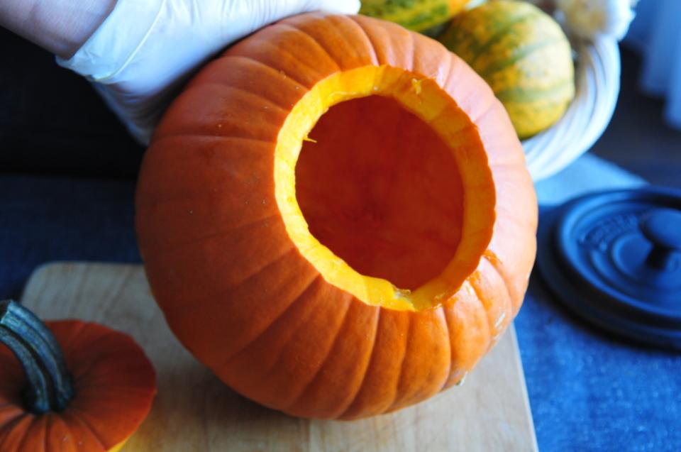 jak zrobić dynię na Halloween (1)