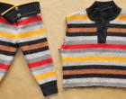 Jak ze starego swetra zrobic spode nki na zimę dla dziecka DIY (1)