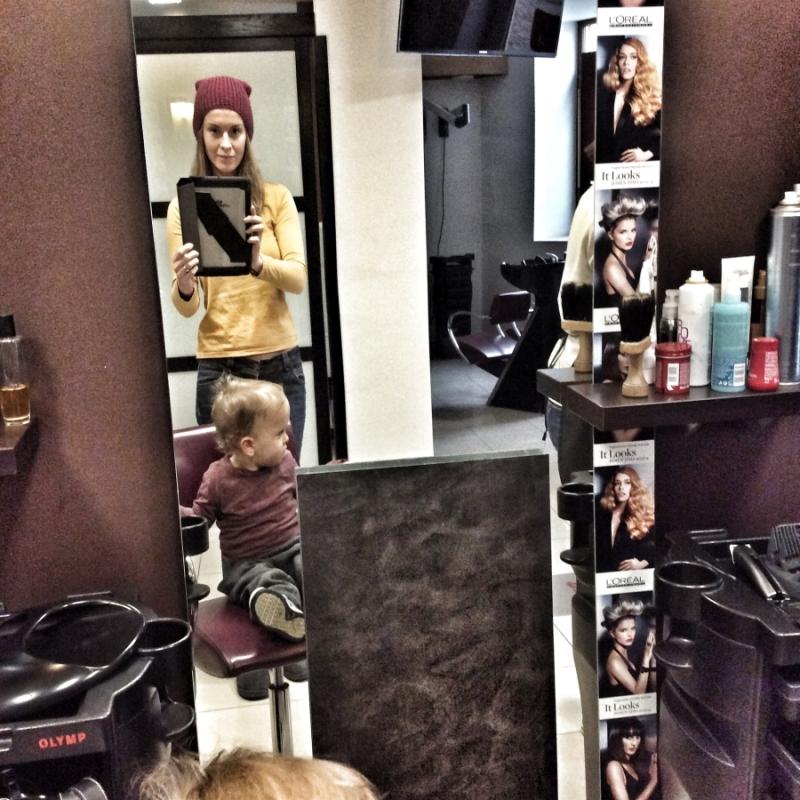 Pierwsza wizyta u fryzjera2