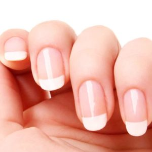 French manicure is always a good idea!