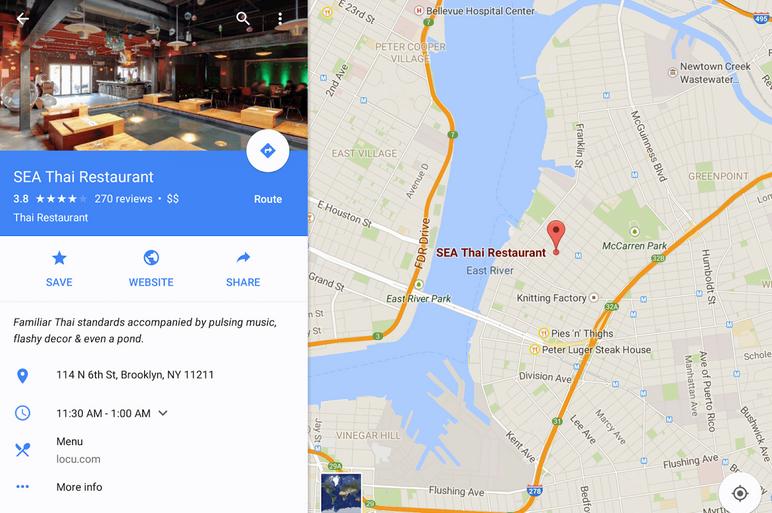 google maps scan