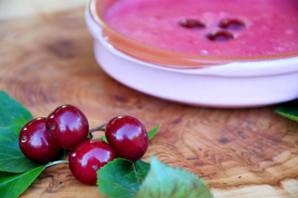 Przepis na zupę wiśniową 4