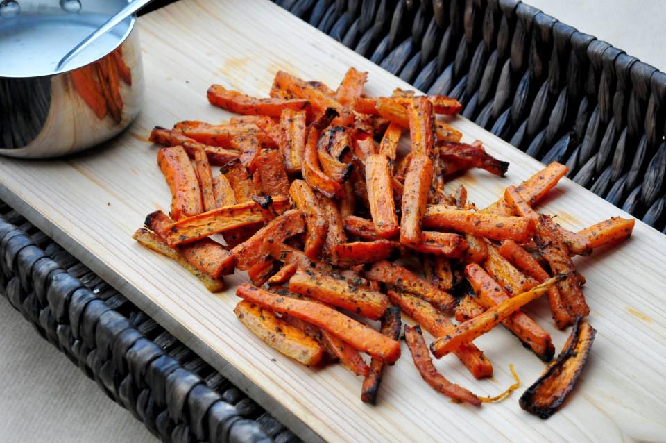 Frytki marchewkowe Frytki z marchewki Szczesliva2