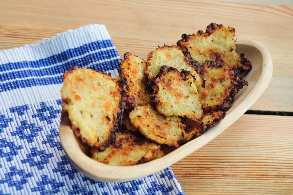 Chipsy z kalarepy z serem kozim11