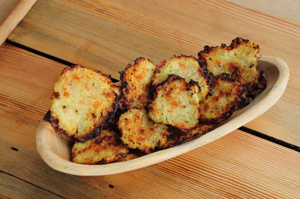 Chipsy z kalarepy z serem kozim8