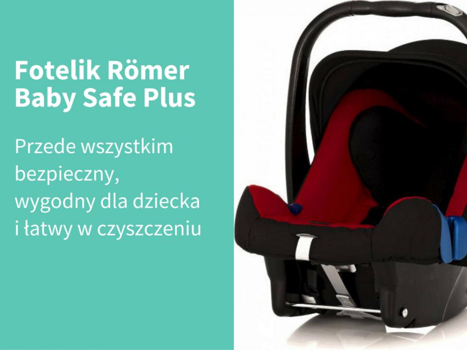 Fotelik Romer Baby Safe Plus