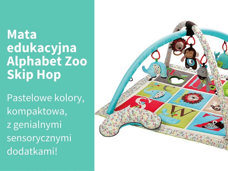 Mata edukacyjna skip hop Alphabet Zoo