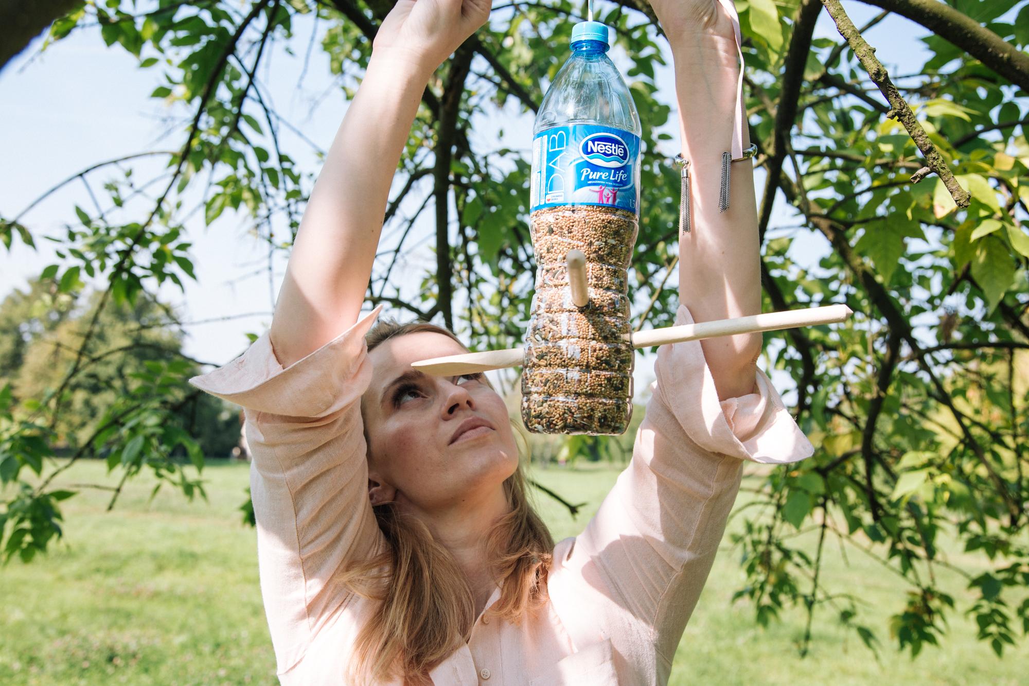 Jak Zrobić Karmnik Dla Ptaków Z Butelki Plastikowej Instrukcja