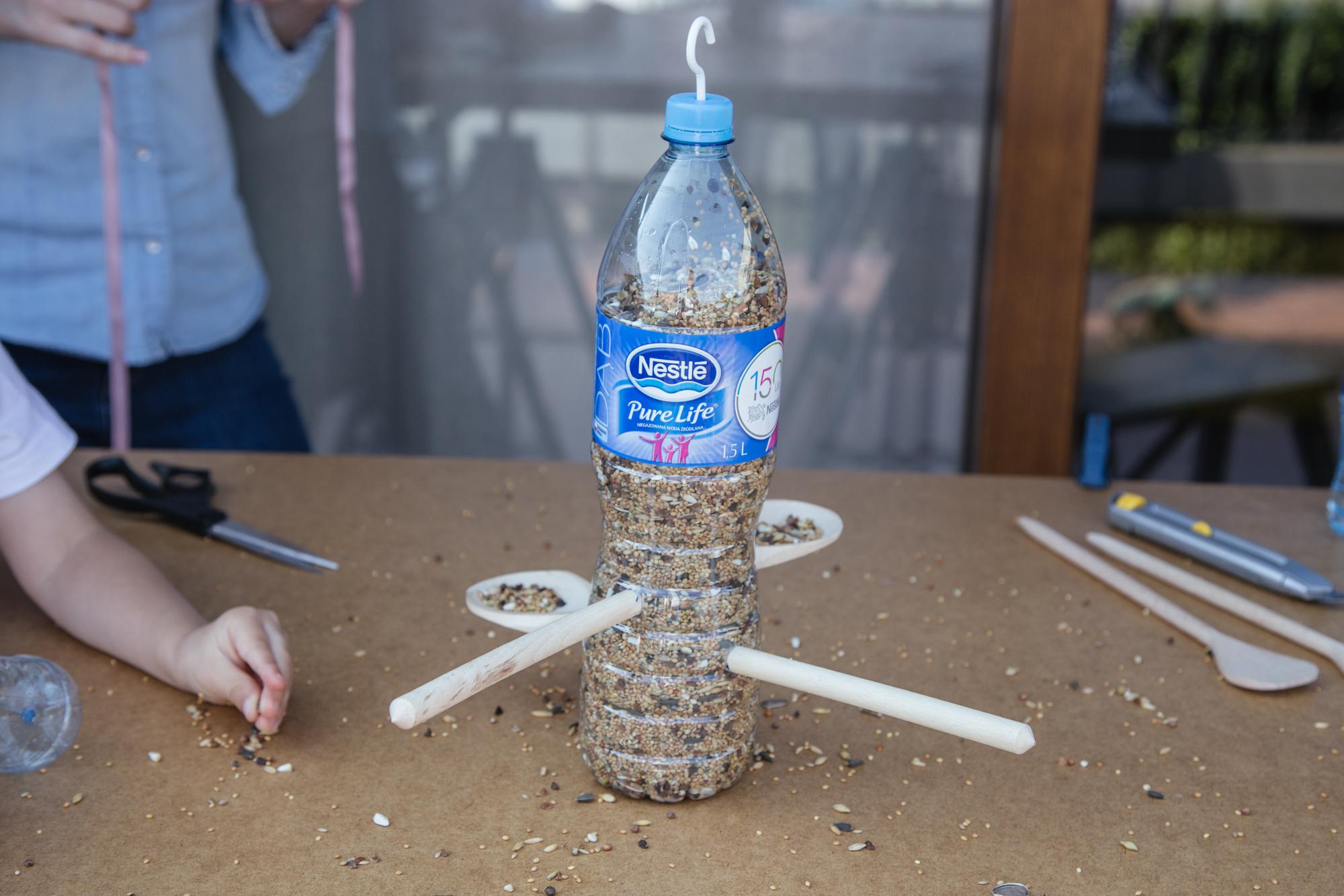 Jak Zrobic Karmnik Dla Ptakow Z Butelki Plastikowej Szczesliva80
